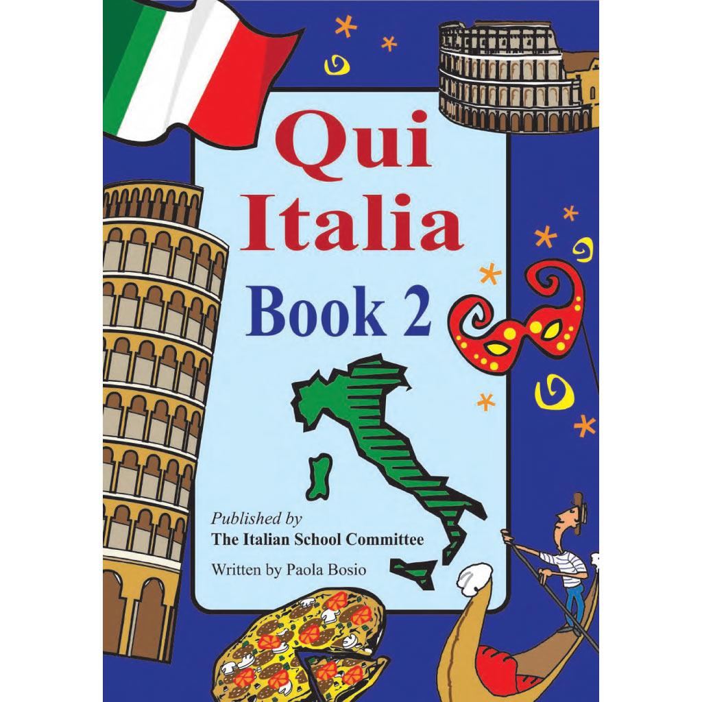 Qui Italia book 2 cover